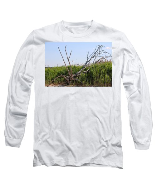Long Sleeve T-Shirt featuring the photograph All Alone by Paul SEQUENCE Ferguson             sequence dot net