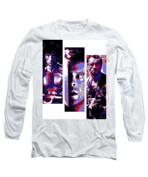 All-american 80's Action Movies Long Sleeve T-Shirt