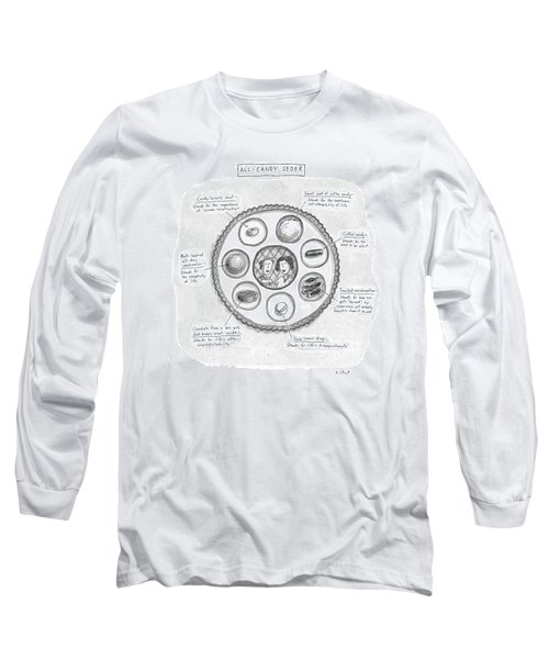 All-candy Seder Long Sleeve T-Shirt