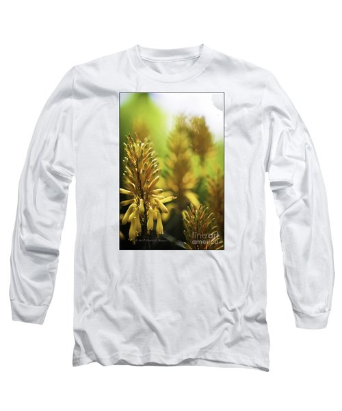 Aloe 'kujo' Plant Long Sleeve T-Shirt