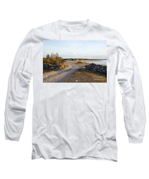 Along The Coast Long Sleeve T-Shirt by Kennerth and Birgitta Kullman