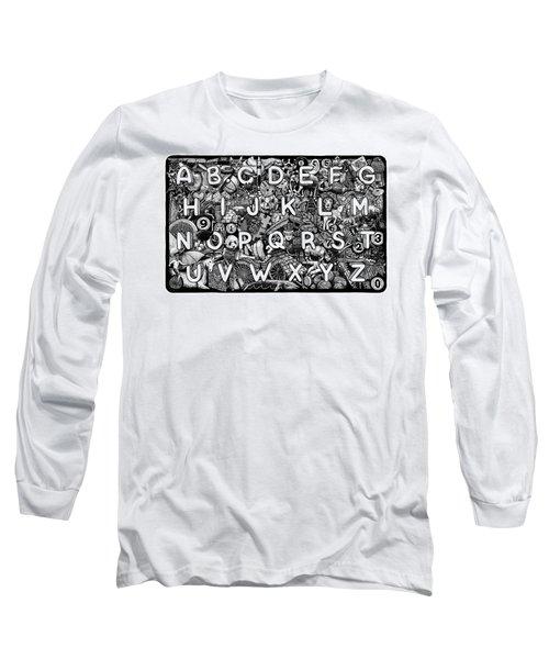 Alphabet Soup Long Sleeve T-Shirt