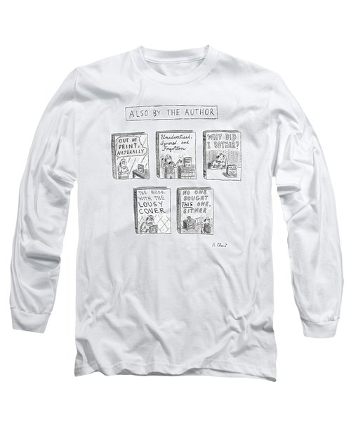 'also By The Author' Long Sleeve T-Shirt