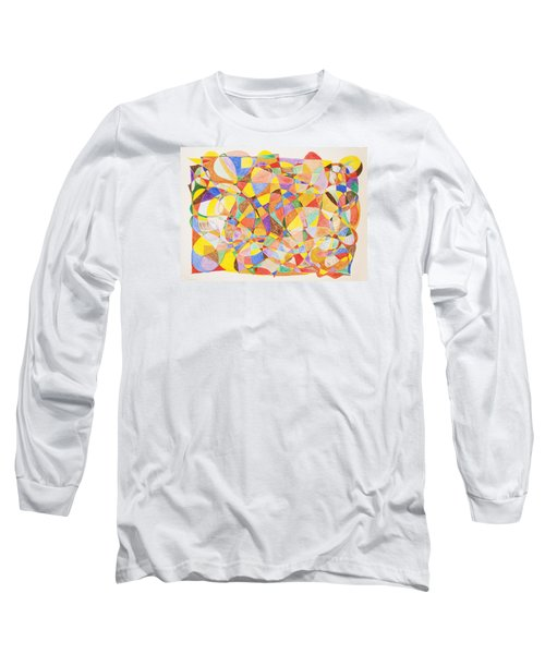 Long Sleeve T-Shirt featuring the painting Alternate Realities by Stormm Bradshaw