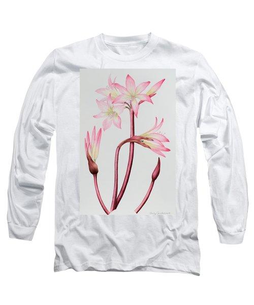 Amaryllis Belladonna Long Sleeve T-Shirt