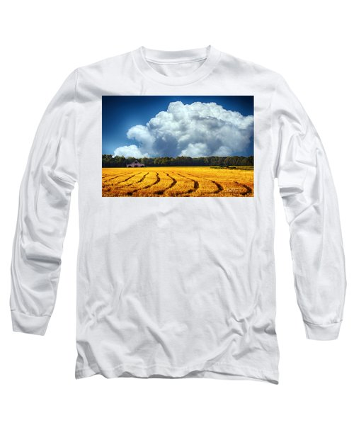 Amber Fields Long Sleeve T-Shirt by Barry Jones