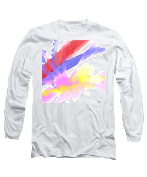 American Sunrise Long Sleeve T-Shirt by George Pedro