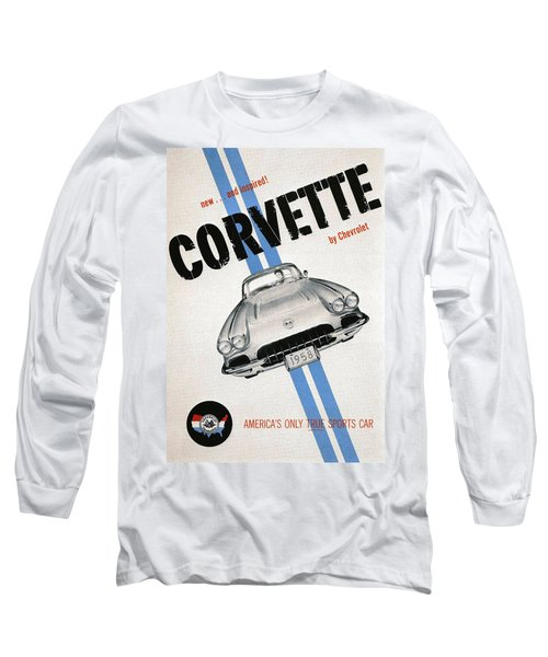 America's Only True Sports Car Long Sleeve T-Shirt