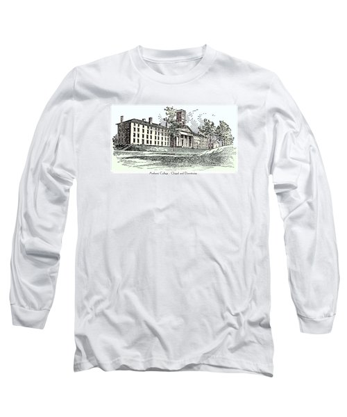 Amherst College - Chapel And Dormitories Long Sleeve T-Shirt