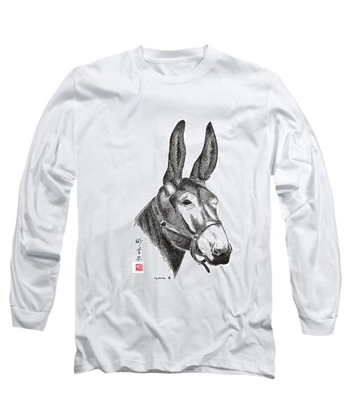 Long Sleeve T-Shirt featuring the painting Amos by Bill Searle