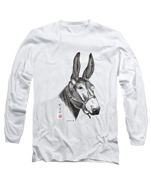Amos Long Sleeve T-Shirt by Bill Searle