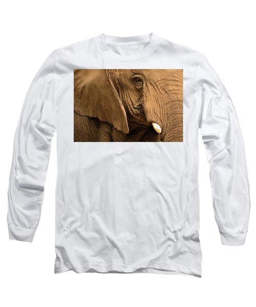 An Elephant's Eye Long Sleeve T-Shirt
