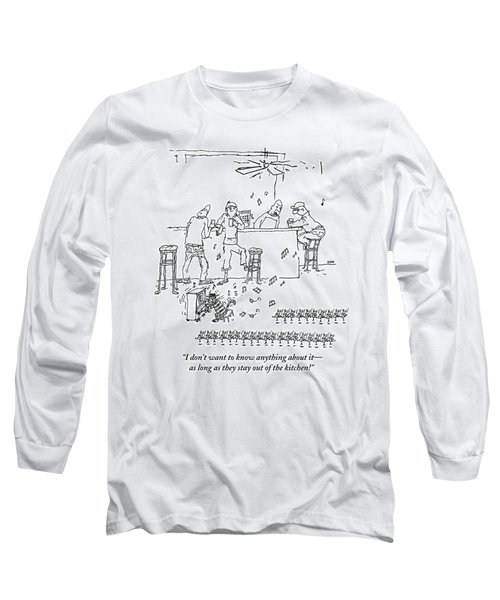 An Invasion Of Dancing Mice And A Cat Pianist Long Sleeve T-Shirt
