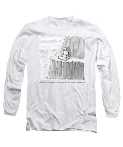 An Old Man Gives Metaphysical Advice Long Sleeve T-Shirt