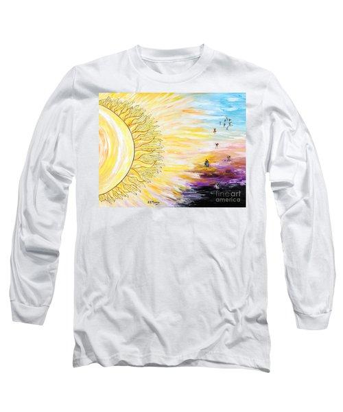 Anche Per Te Sorgera' Il Sole Long Sleeve T-Shirt