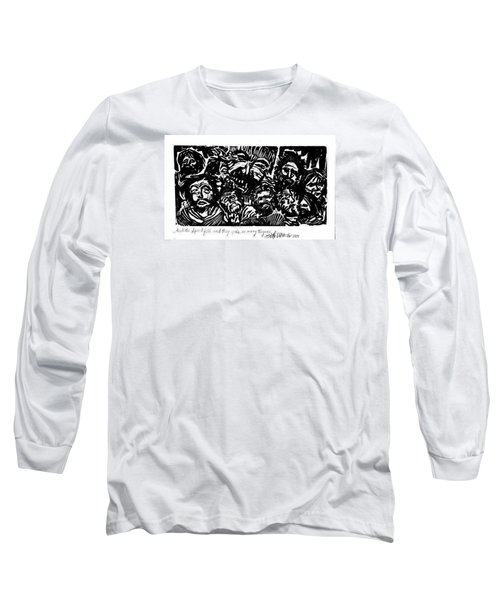 And The Spirit Fell Long Sleeve T-Shirt by Seth Weaver