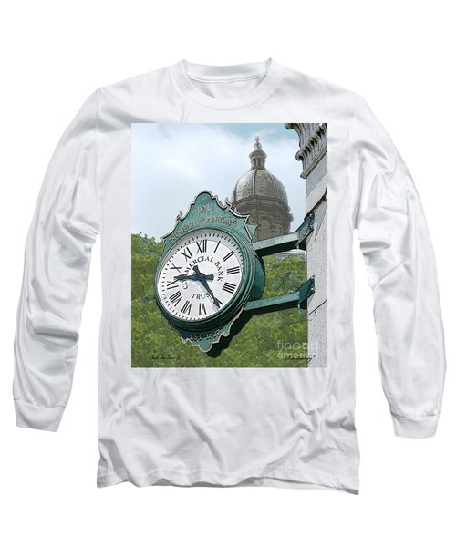 And The Time Is Long Sleeve T-Shirt