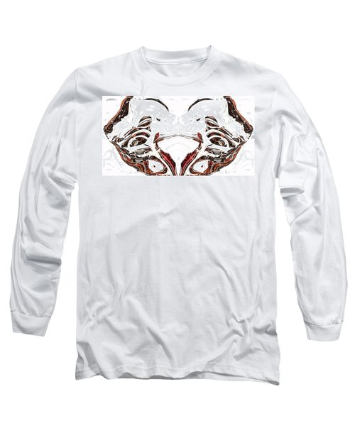 Long Sleeve T-Shirt featuring the digital art Androidinous by Richard Thomas