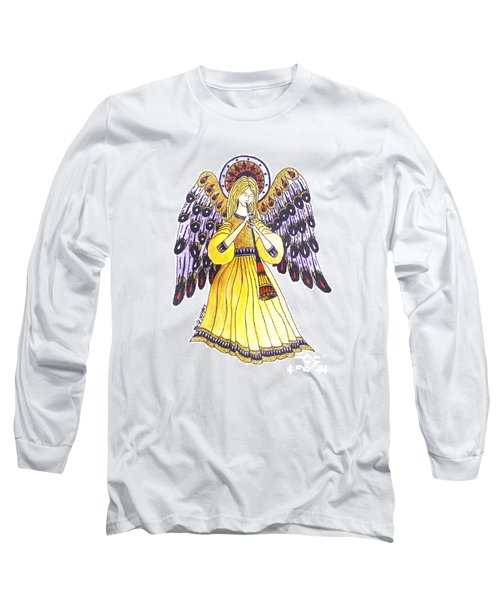 Angel In Horns Section Long Sleeve T-Shirt
