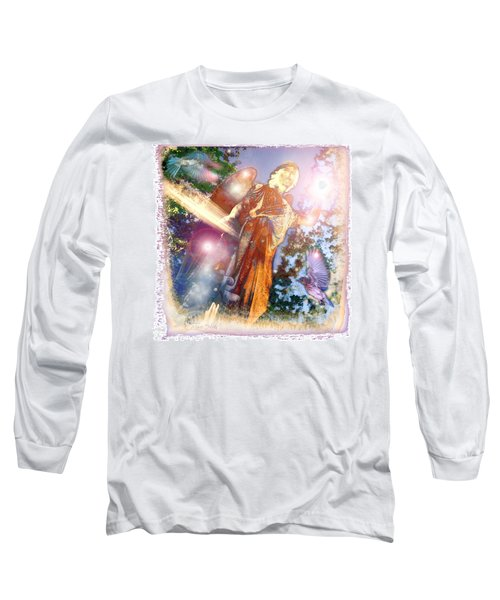 Long Sleeve T-Shirt featuring the photograph Angel Light by Marie Hicks