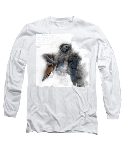 Angel Warrior Long Sleeve T-Shirt by Evie Carrier