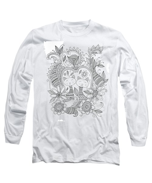 Animal Cats Long Sleeve T-Shirt