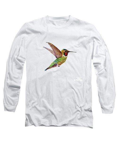Anna Hummingbird Long Sleeve T-Shirt