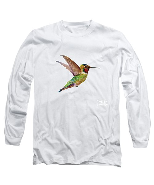 Anna Hummingbird Long Sleeve T-Shirt