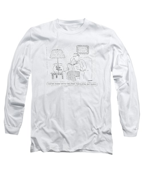 Another Energy-saving Idea From Your Electric-eel Long Sleeve T-Shirt