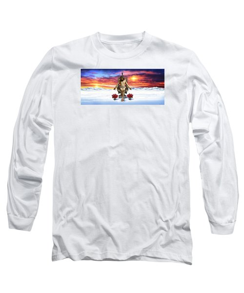 Antarctica Long Sleeve T-Shirt by Scott Ross