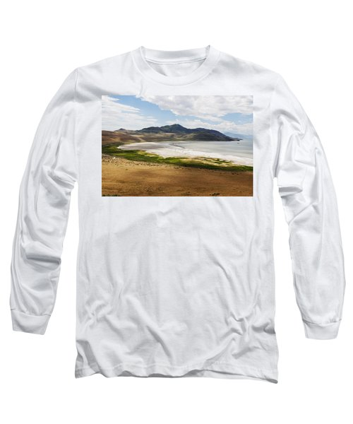 Long Sleeve T-Shirt featuring the photograph Antelope Island by Belinda Greb