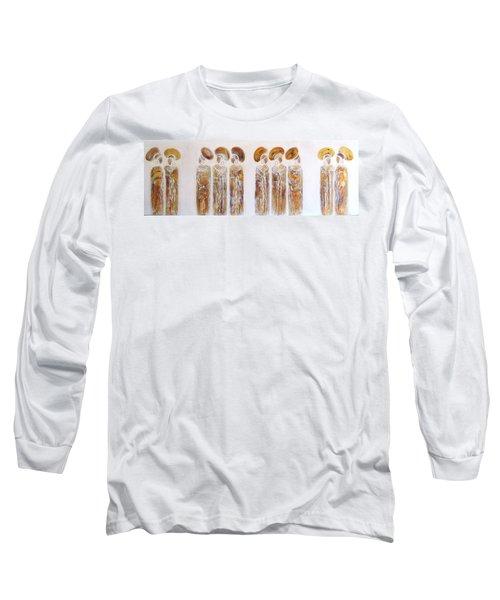 Antique Copper Zulu Ladies - Original Artwork Long Sleeve T-Shirt