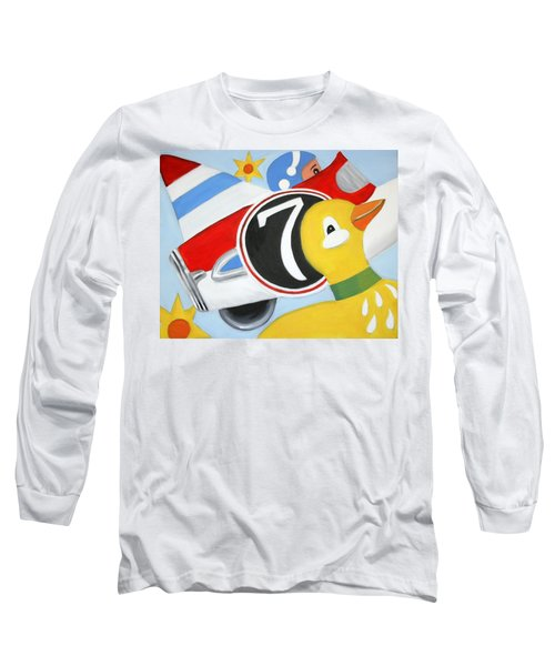 Antique Toys Long Sleeve T-Shirt by Stacy C Bottoms