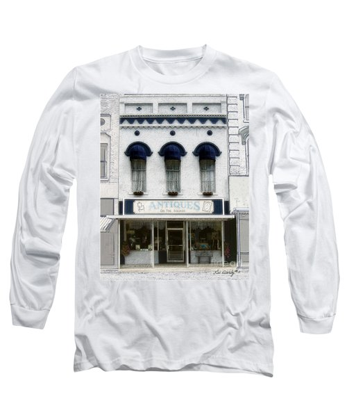 Antiques On The Square Long Sleeve T-Shirt
