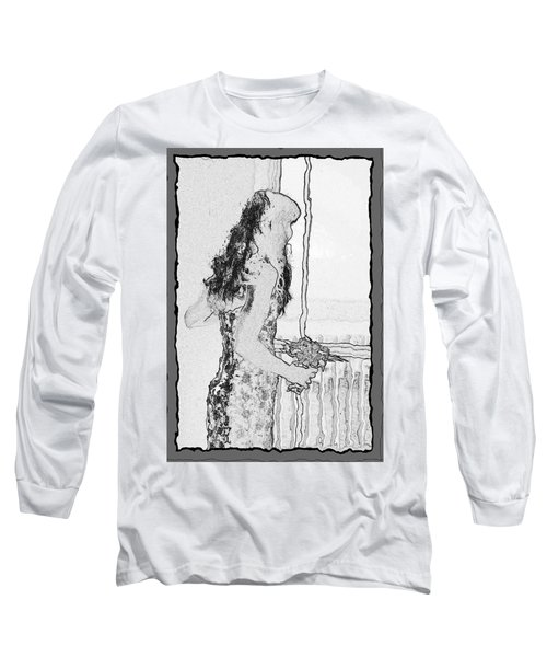 Anxiously Waiting Long Sleeve T-Shirt