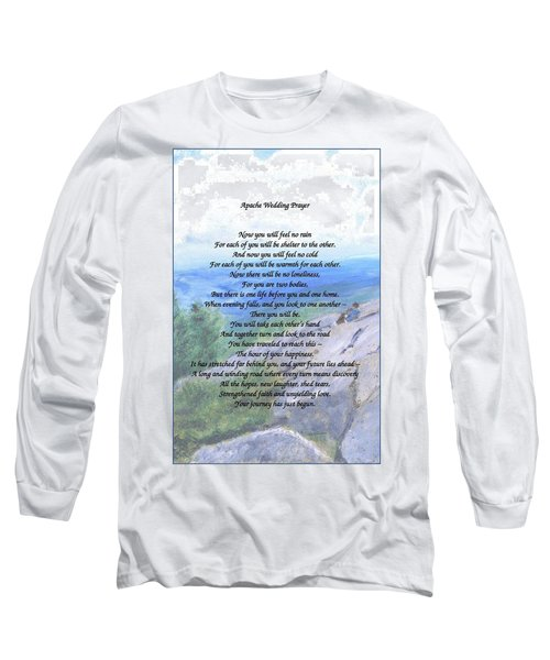 Apache Wedding Prayer Long Sleeve T-Shirt