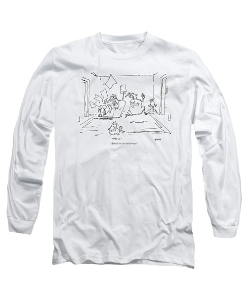 Aphids On The Heliotrope! Long Sleeve T-Shirt