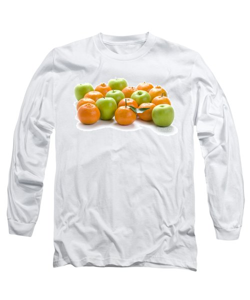 Long Sleeve T-Shirt featuring the photograph Apples And Oranges by Lee Avison