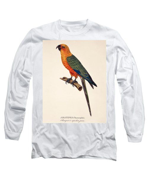 Aratinga Chrysocephalus  Long Sleeve T-Shirt