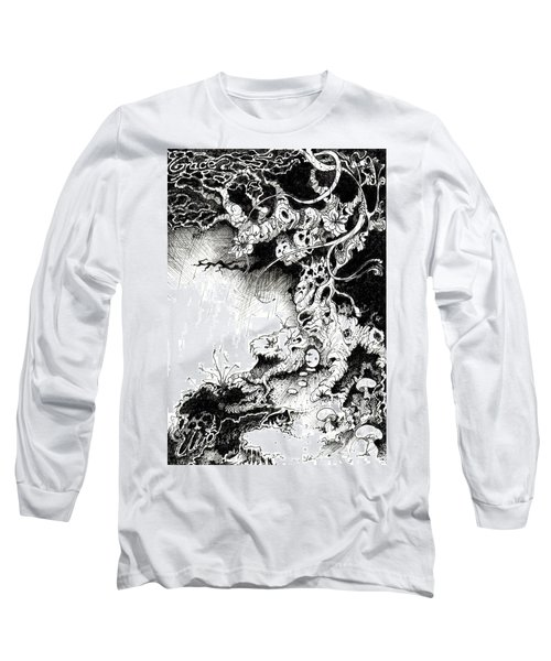 Arbol Long Sleeve T-Shirt by Julio Lopez