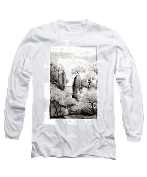 Arbres Separes Long Sleeve T-Shirt