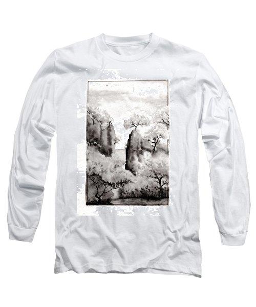 Arbres Separes Long Sleeve T-Shirt