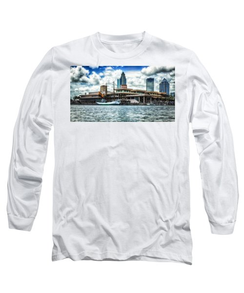 Arc Gloria In Port In Hdr Long Sleeve T-Shirt by Michael White