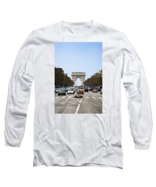 Arch Of Triumph In Paris Long Sleeve T-Shirt