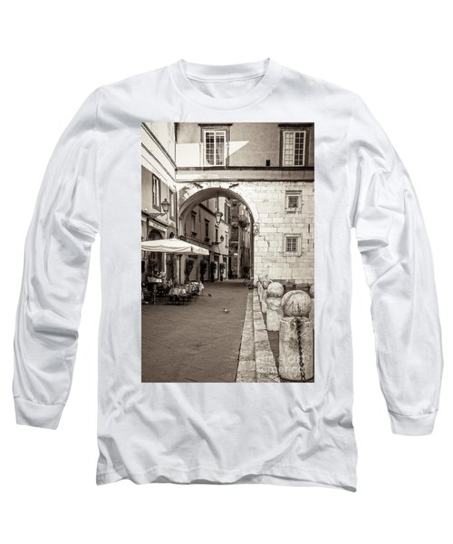 Archway Over Street Long Sleeve T-Shirt