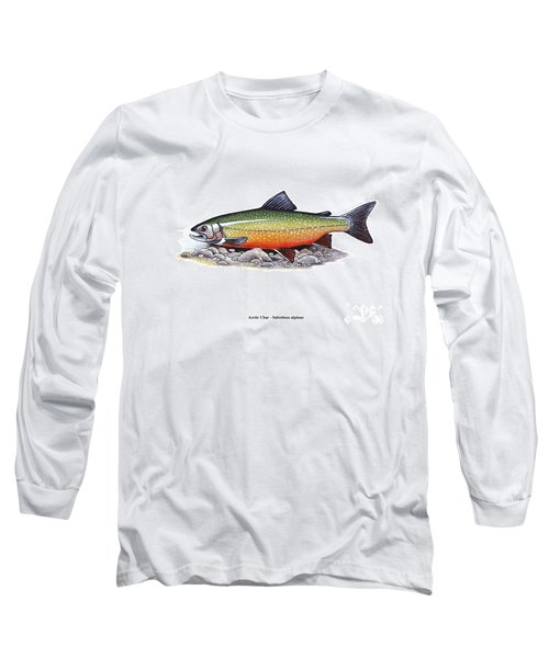 Arctic Char Male Long Sleeve T-Shirt