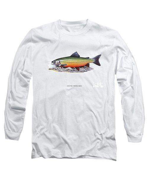 Arctic Char Male Long Sleeve T-Shirt