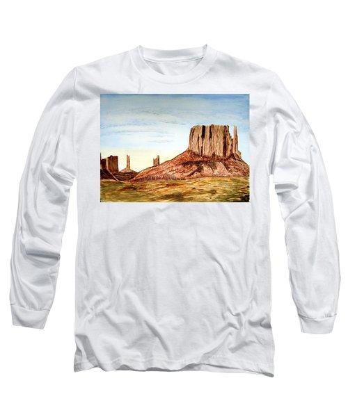 Arizona Monuments 2 Long Sleeve T-Shirt