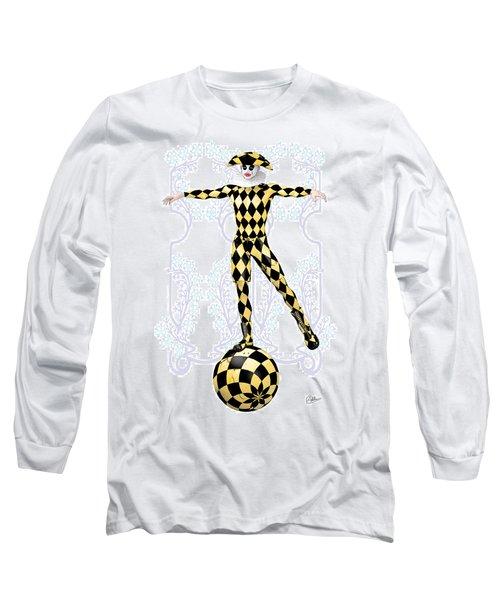 Harlequin Tightrope Long Sleeve T-Shirt