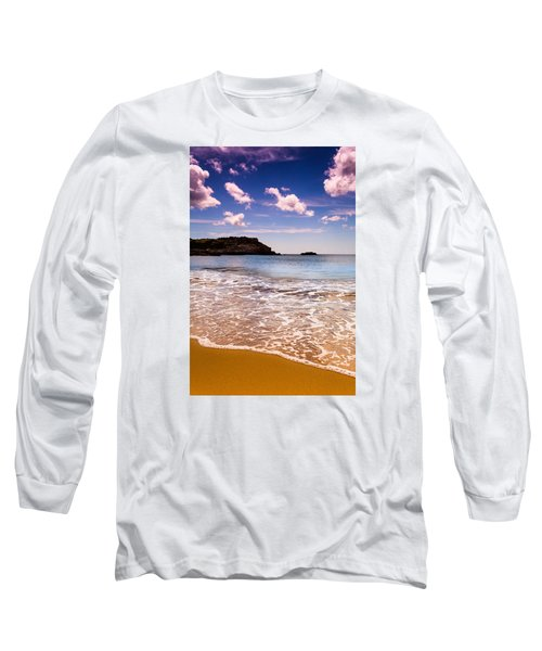 Long Sleeve T-Shirt featuring the photograph Around The Sea by Edgar Laureano